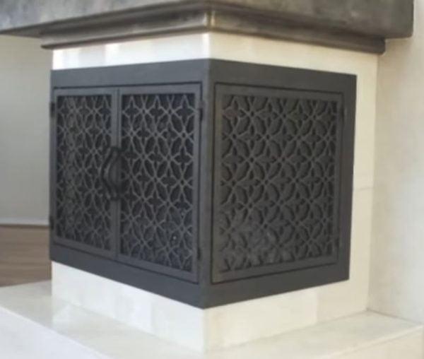 fireplace replacement doors