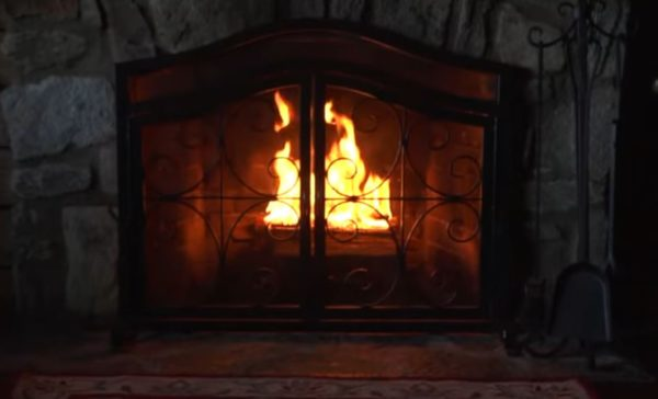 fireplace screens lowes