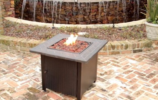 gas fire pit ideas