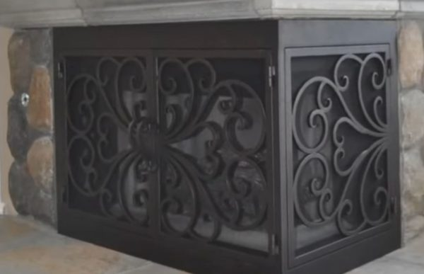 heatilator fireplace doors