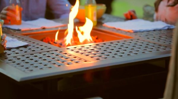 homemade fire pit grate