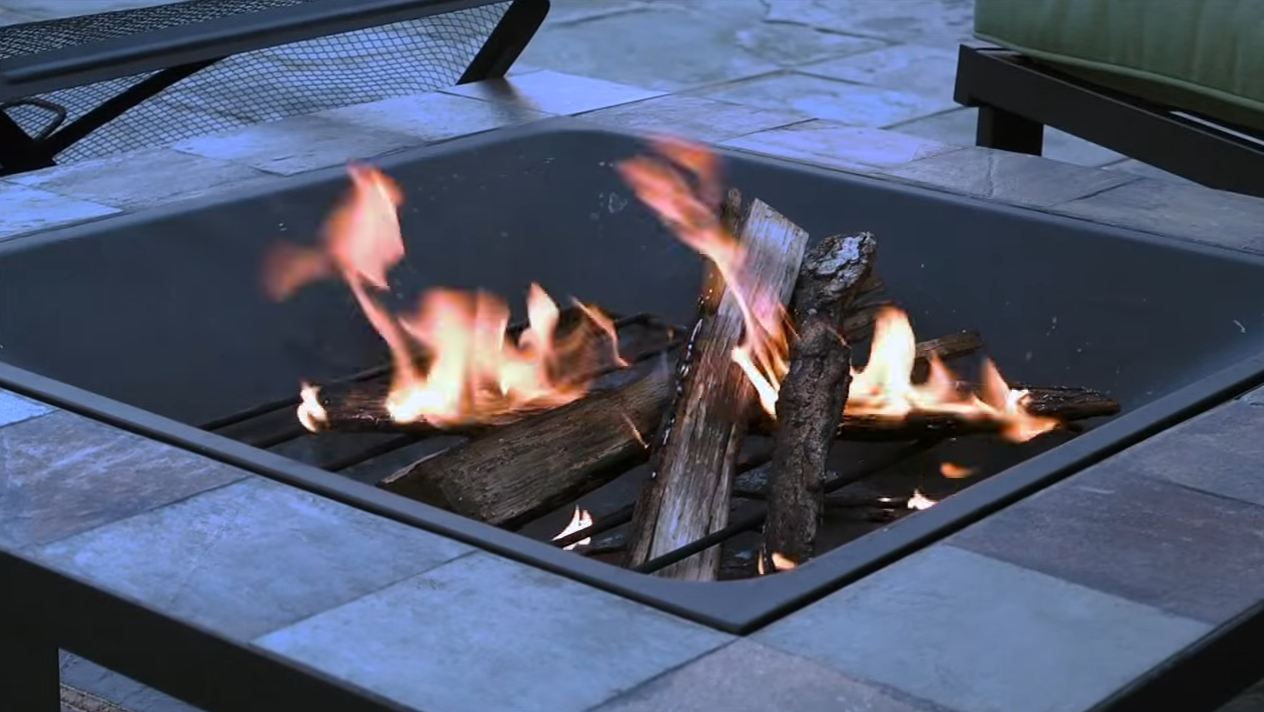 How to make a homemade fire pit.
