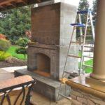 indoor outdoor fireplace