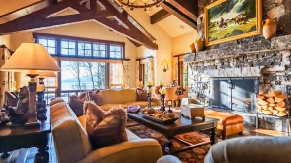 log burner fireplace design ideas