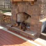 lowes outdoor fireplace