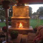 lowes outside fireplace