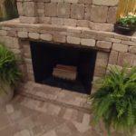 outdoor fireplace kits wood burning