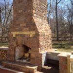 outside propane fireplace