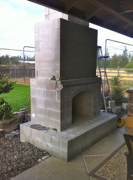 Prefab Outdoor Fireplace Fire Pit Pics