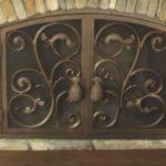 replacement fireplace doors