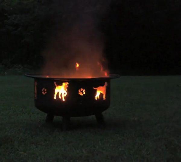 simple fire pit ideas
