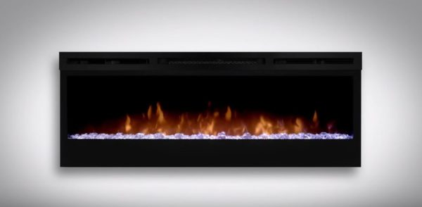 wall electric fireplace