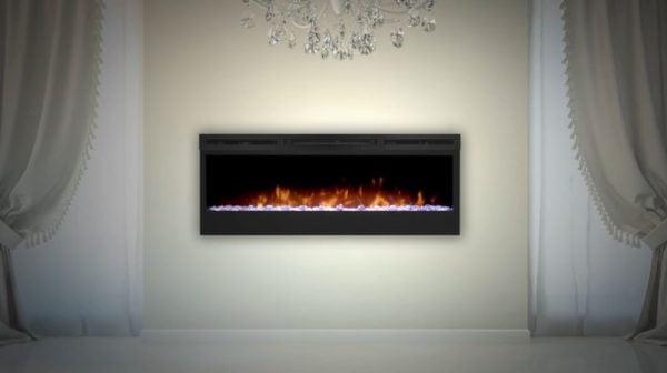 wall fireplace heater
