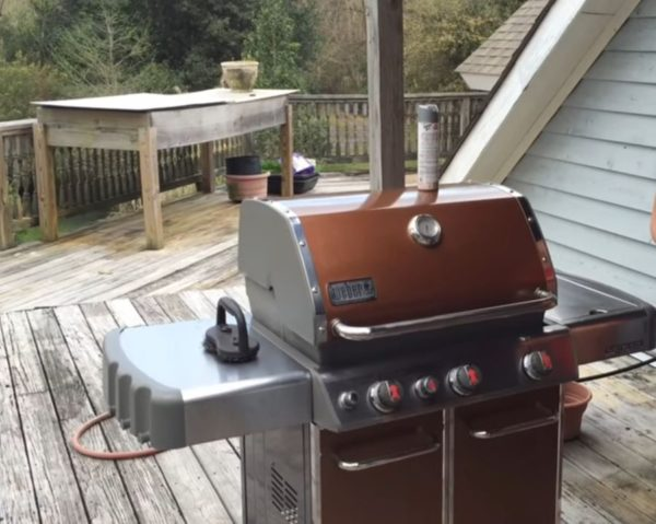 weber grill gas